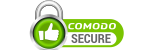 Secured by Comodo Secure SSL encryption