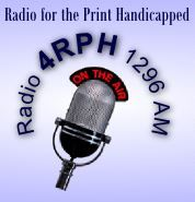 4RPH 1296 Radio for the Print Handicapped
